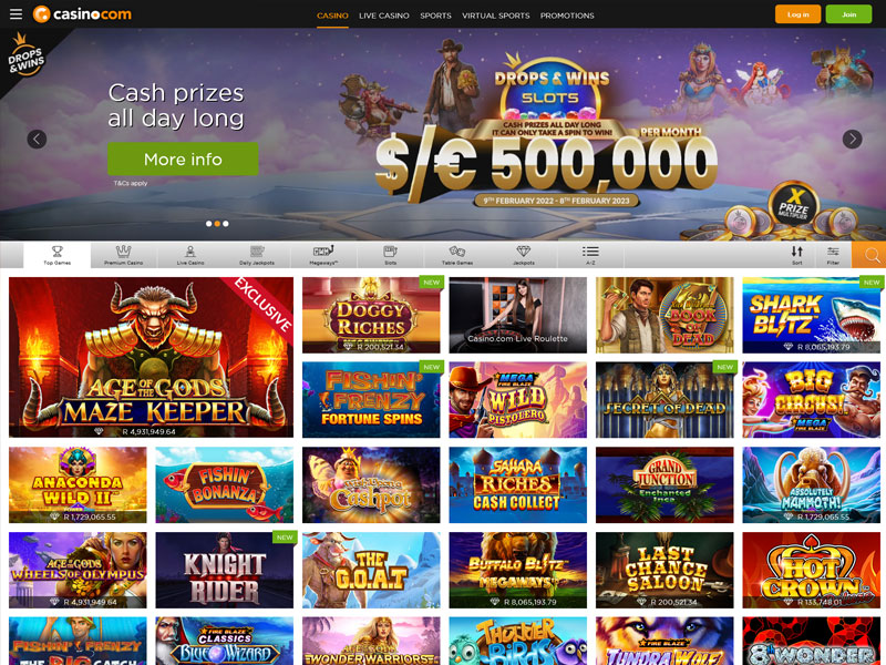 Free spins no deposit existing players