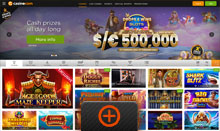 Casino.com promotions page