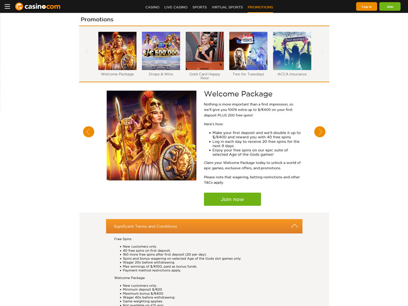 Syndicate casino free spins