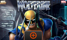 Wolverine Slot Game Loading Screen
