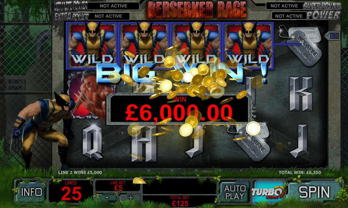 Wolverine Slot - Win Big Playing Online Casino Games