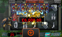 Wolverine Slot Game - Berserker Rage Big Win