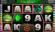 The Incredible Hulk Slot Game 5 Of A Kind