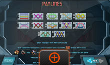 Iron Man 3 Slot Game Paylines