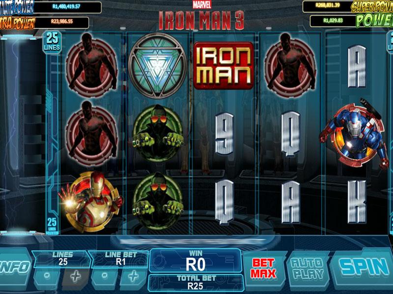 Iron Man 3 Slot Machine