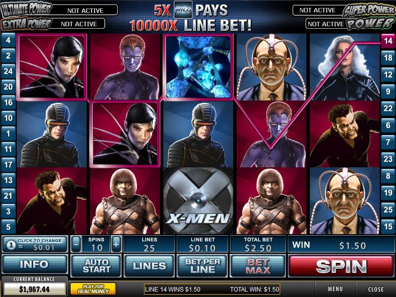 Free Slot Games X Men